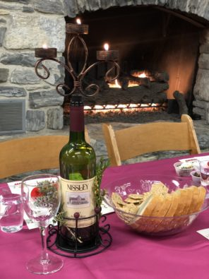Wine and Food pairing event at Nissley Vineyards