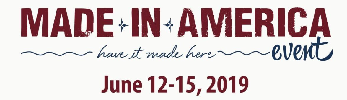 visit york made in america event June 12-15, 2019