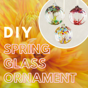 Spring Glass Ornament Workshop