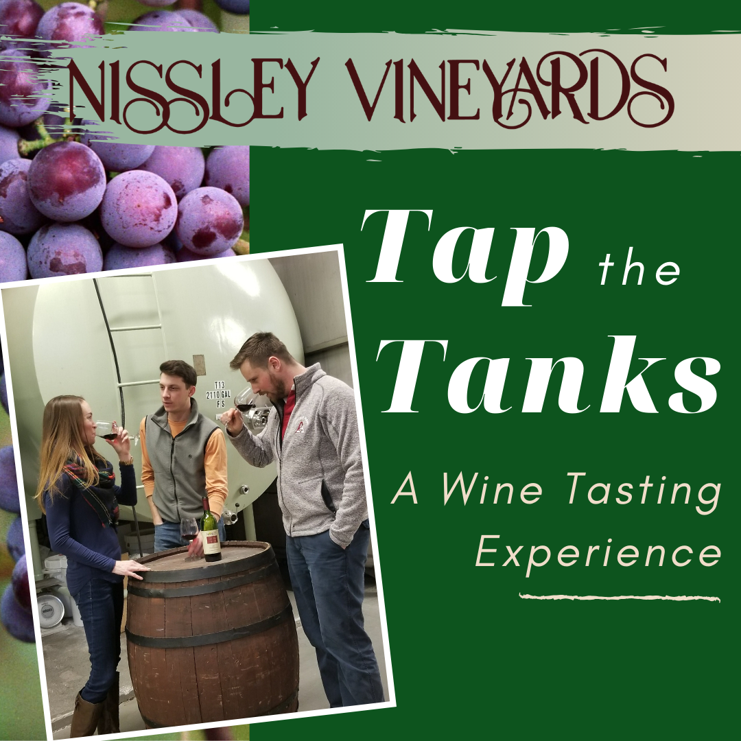 A wine tasting experience