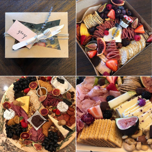 Graze cheese and charcuterie in a box