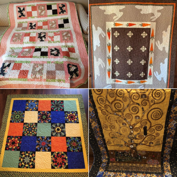 My Cottage Creations quilted items